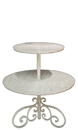 Two-Tier Table, Item #133.2